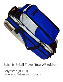 3 ball roller tote